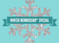 Winter Membership (3 months - see description for full details) First Child