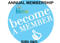 Annual (12 Month) Membership (Sibling)