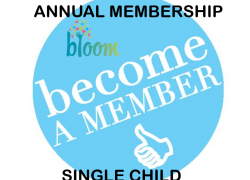Annual (12 month) Membership (First Child)