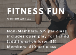 Fitness Fun (Fridays, weekly) 10:45-11:45am