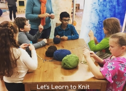 Let's Learn to Knit Single Class Drop In (Wednesdays starting 1/8) 1:45-2:30