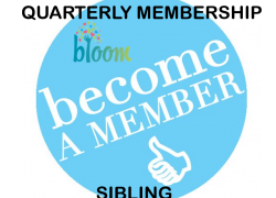 Quarterly (3 Month) Membership (Sibling)