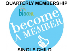 Quarterly (3 month) Membership (First Child)